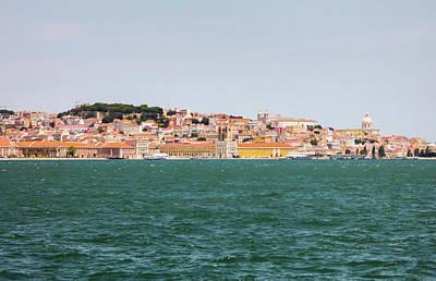 Photograph - Lisbon's Cityscape by Helissa Grundemann