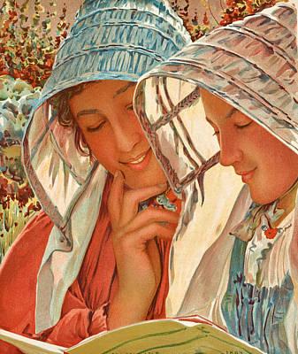 0 Painting - Liseuses by Louis Welden Hawkins