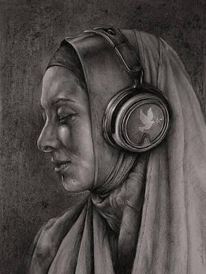 Acceptance Drawing - Listen 21 by Brent Schreiber