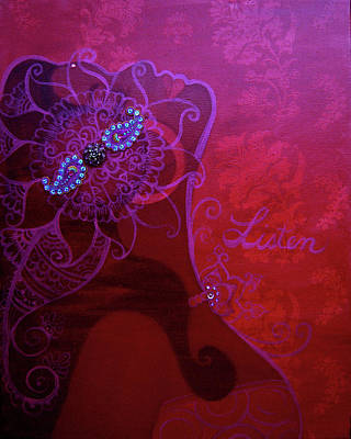 Painting - Listen by Eleanor Hofer