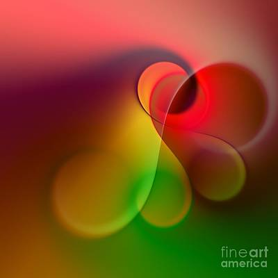 Fractal Digital Art - Listen To The Sound Of Colors -1- by Issabild -