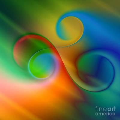Digital Art - Listen To The Sound Of Colors -2- by Issabild -