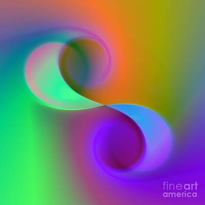 Digital Art - Listen To The Sound Of Colors -4- by Issabild -