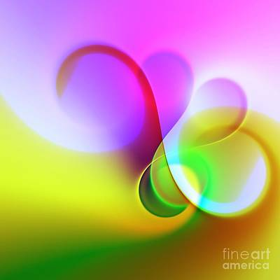 Digital Art - Listen To The Sound Of Colors -5- by Issabild -