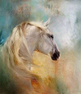 Digital Art - Listen To The Wind- Harley by Dorota Kudyba