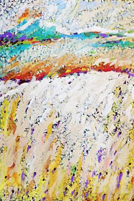 Charles Wallis Painting - Listen To The Wind Speak Of Joy by Charles Wallis