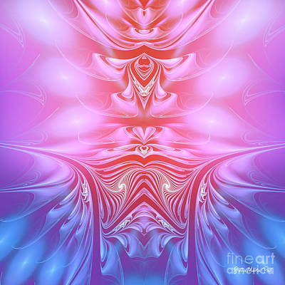 Digital Art - Listen To Your Heart by Jutta Maria Pusl