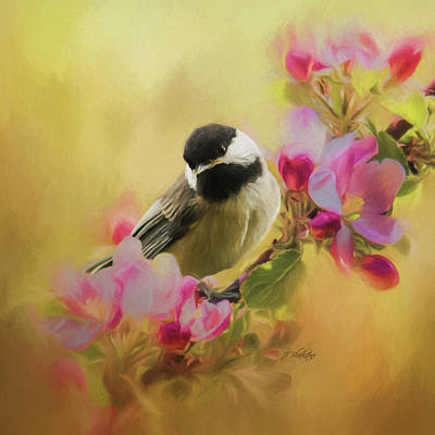 Painting - Listen To Your Heart - Songbird Art by Jordan Blackstone