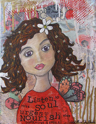 Painting - Listen To Your Soul Urges by Heather Shalhoub