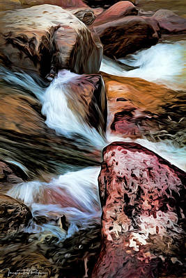 Water Filter Mixed Media - Listen by Todd Yoder