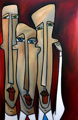 Tom Fedro Wall Art - Painting - Listen Up by Tom Fedro - Fidostudio
