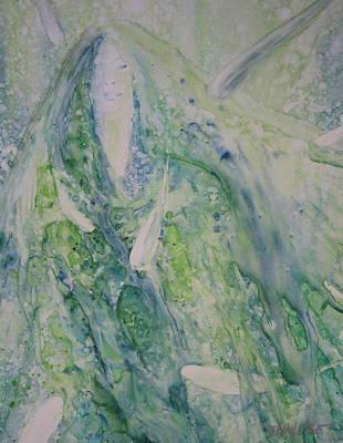 Wall Art - Painting - Listening II by Debra LePage