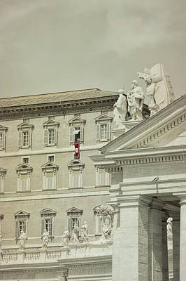 Photograph - Listening To The Pope by JAMART Photography