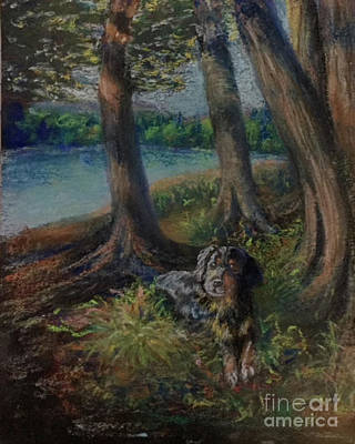 Painting - Listening To The Tales Of The Trees by Susan Sarabasha