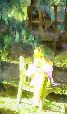 Digital Art - Listening To Herself by Viktor Savchenko