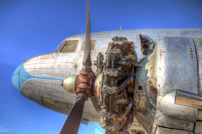 Photograph - Lisunov Li-2 Aeroplane by David Pyatt