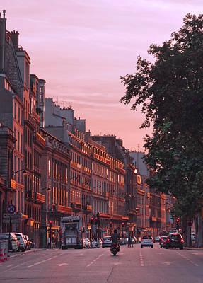 Lit Copper In Paris Art Print by Steven Maxx