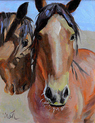 Painting - Litchfield Homies by Pattie Wall