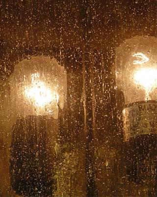 Lite Rain Art Print by Florene Welebny