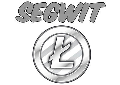 Digital Art - Litecoin Segwit by Britten Adams