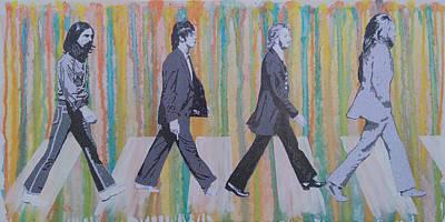 Literally Abbey Road Art Print