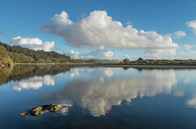 Photograph - Litte River Reflections On A Cloud by Greg Nyquist