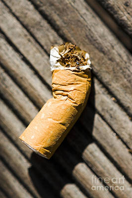 Nicotine Photograph - Litter by Jorgo Photography - Wall Art Gallery