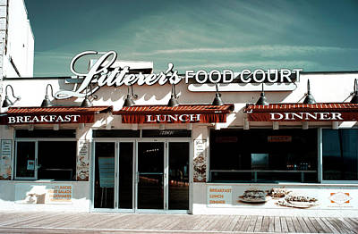 Photograph - Litterer's Food Court by John Rizzuto