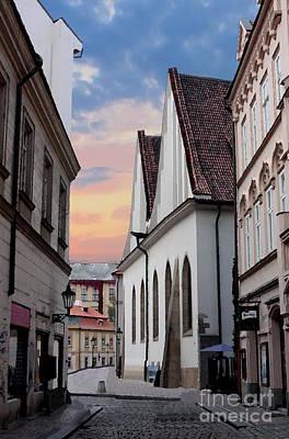 Little Alley In Prague Art Print
