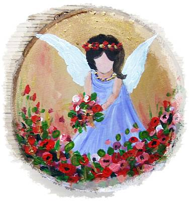 Painting - Little Angel by Vesna Martinjak