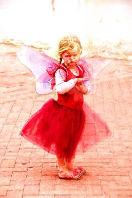 Photograph - Little Angel Wings by Alice Gipson