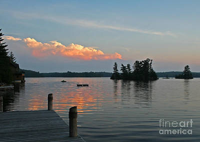Little Bald Lake Art Print