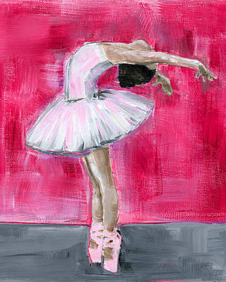 Painting - Little Ballerina #2 by Debbie Brown