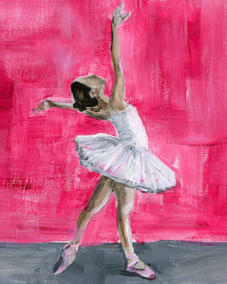Painting - Little Ballerina by Debbie Brown