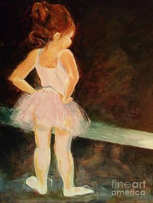 Painting - Little Ballerina by Madeleine Holzberg