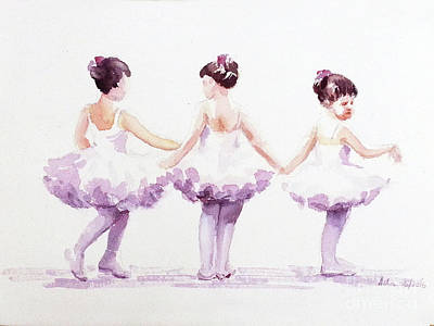 Little Ballerinas-3 Art Print
