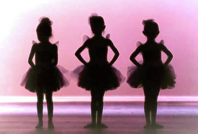 Photograph - Little Ballerinas by Athena Mckinzie