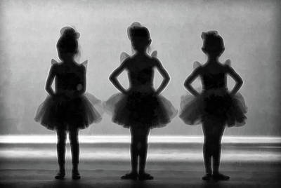 Photograph - Little Ballerinas II by Athena Mckinzie