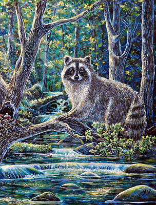 Painting - Little Bandit by Gail Butler