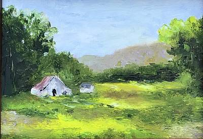 Painting - Little barn by Cheryl Green