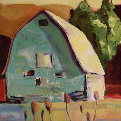 Painting - Little Barn by Leslie Rock