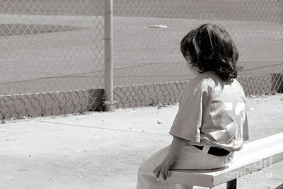 Photograph - Little Baseball Brother by Leah McPhail