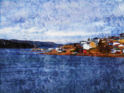 Photograph - Little Bay by Zinvolle Art