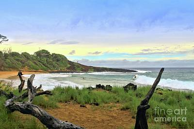 Art Print featuring the photograph Little Beach by DJ Florek