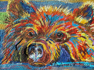 Painting - Little Bear by Anderson R Moore