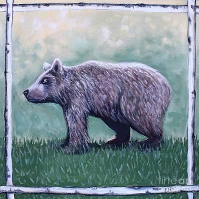 Painting - Little Bear by Elizabeth Robinette Tyndall