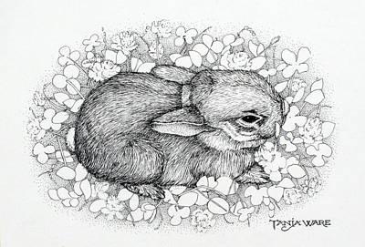 Little Big Ears Art Print by Tanja Ware