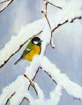 Painting - Little Birdie by Vivian Stearns-Kohler
