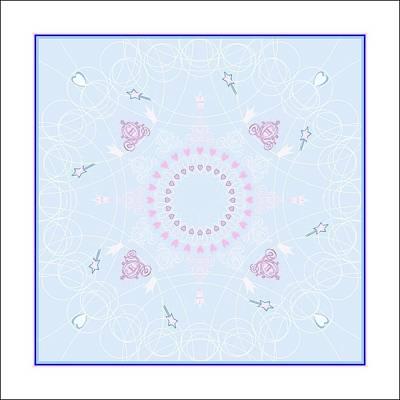 Castle Digital Art - Little Bit Of Magic by Rosemary Babikan