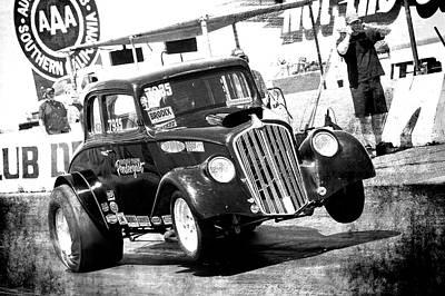 Photograph - Little Black Coupe by Richard J Cassato